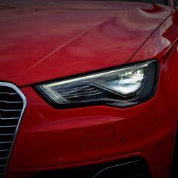 Audi A3 sportback 2015 rojo 1.4 tfsi E-tron 204cv electrico hibrido enchufable de segunda mano multiautos ourense electricos en galicia(11)